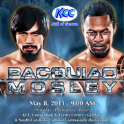 Watch Manny Pacquiao Vs. Mosley Fight via Pay-per-view at KCC Mall of Gensan