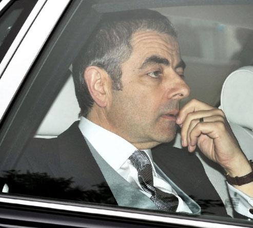 Mr. Bean (Rowan Atkinson) spotted at the Royal Wedding