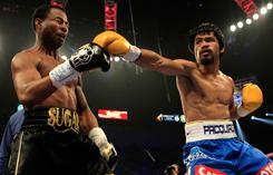 Congratulations to Manny Pacquiao for winning the match against Sugar Shane Mosley