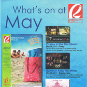 What's on May at Robinsons Place Gensan