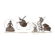 Google Martha Graham 117th Birthday (May 11, 2011)