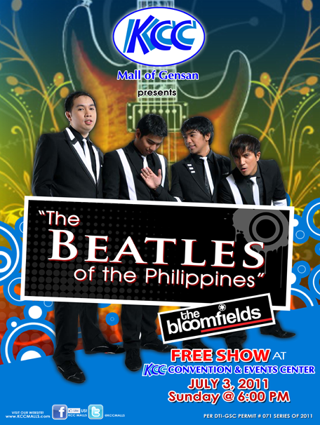 Bloomfields Mall Show at KCC Mall of Gensan (July 3, 2011)