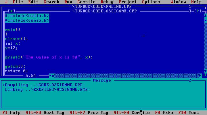 Download Turbo C++ Version 3.0 (1990 Borland International, Inc)