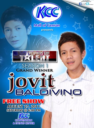 Jovit Baldivino Free Show in Gensan (August 27, 2011)