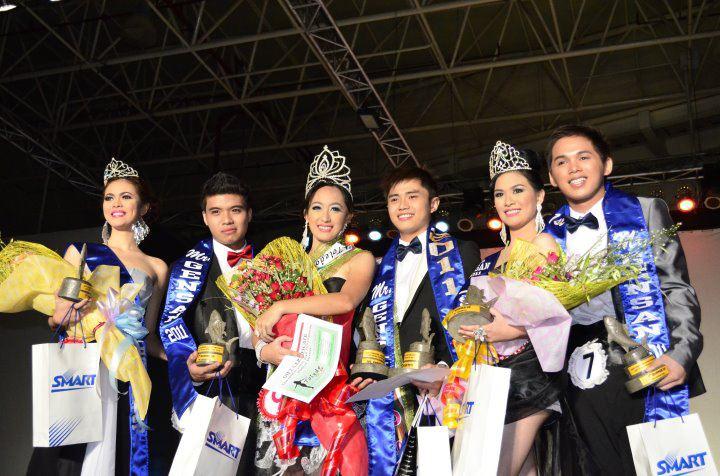Winners of Mr. and Ms. Gensan 2011 (Caroline Lim and Marc Jerick Chan)