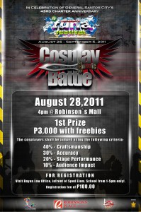 Gensan's Tuna Festival - Cosplay Battle