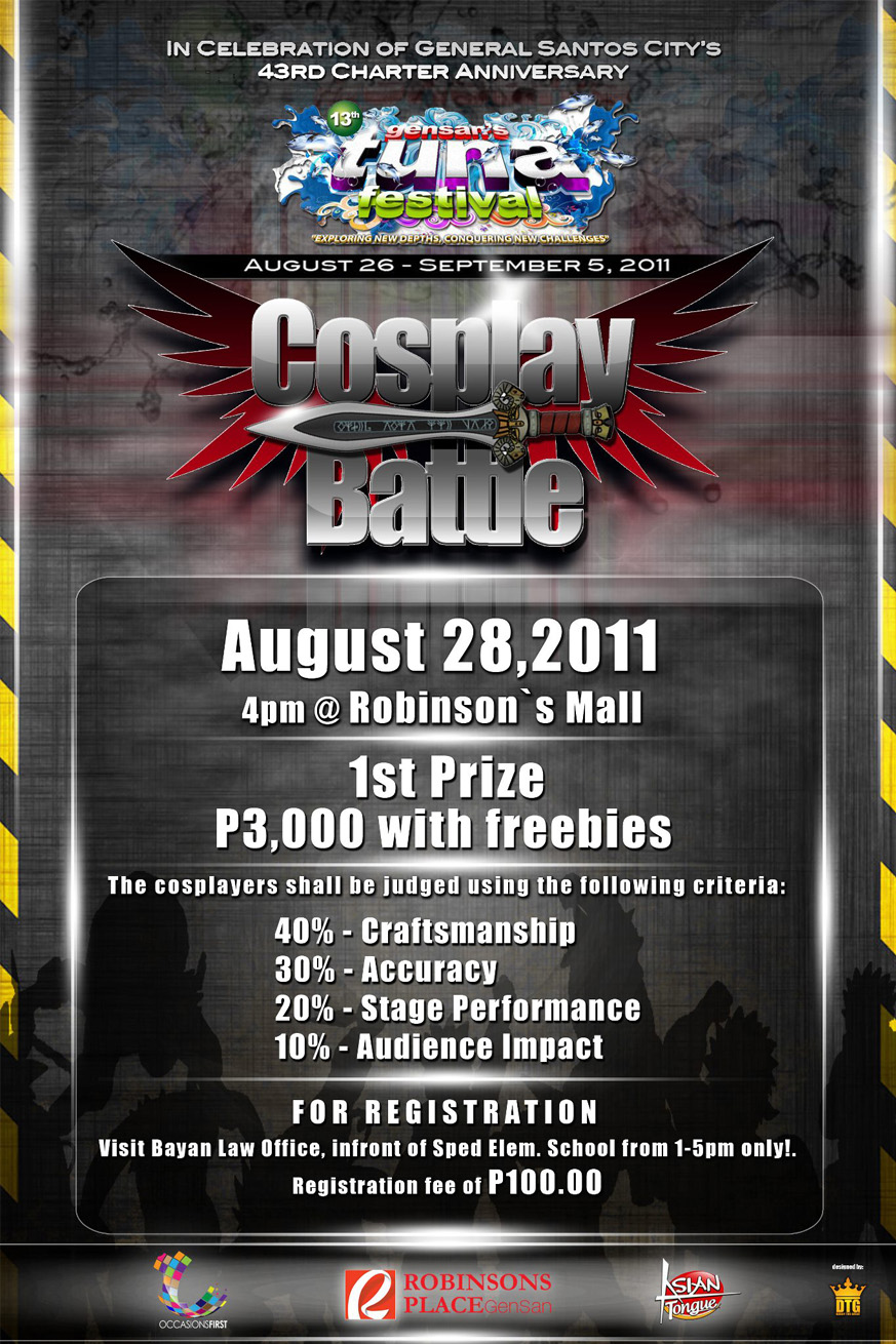 Gensan's Tuna Festival – Cosplay Battle (August 28, 2011)