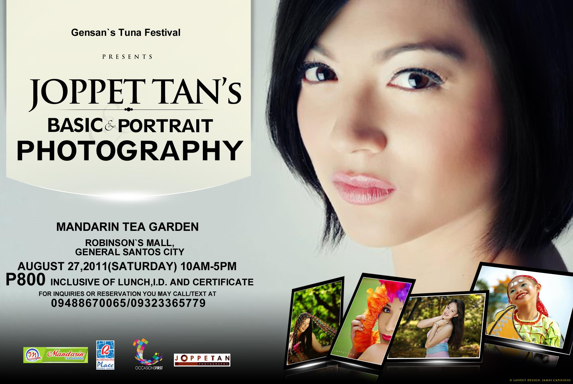 Joppet Tan's – Basic and Portrait Photography (August 27, 2011)