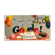 Google's 13th Birthday (September 27, 2011)