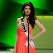 Miss Shamcey Supsup won the 3rd runner up on Miss Universe 2011