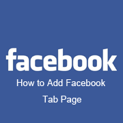 How to create Facebook Page Tab / Welcome Page