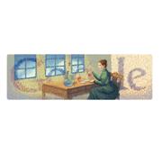 Google Marie Curie's 144th Birthday (November 7, 2011)