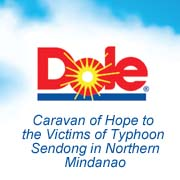 Dolefil Caravan of Hope to the victims of Typhoon Sendong in Northern Mindanao