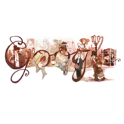 Google Charles Dicken's 200th Birthday