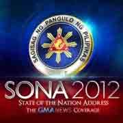SONA 2012 live streaming