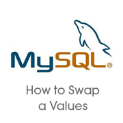 How to update and swap values using a query in mySQL