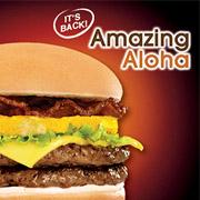 Jollibee Amazing Aloha Burger