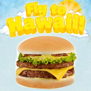Buy Amazing Aloha Burger and get a chance to win a trip to Hawaii