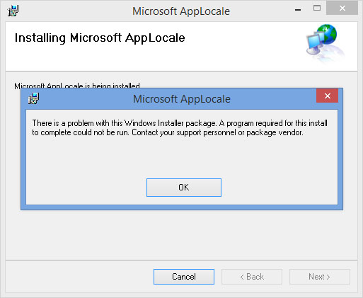 How to Install AppLocale on Windows 8.1