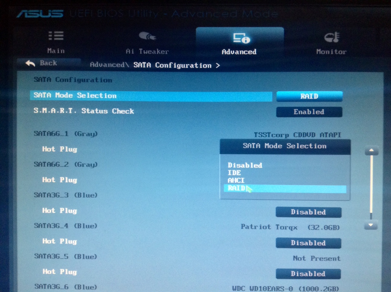 how to fusion hdd and ssd using intel rapid storage