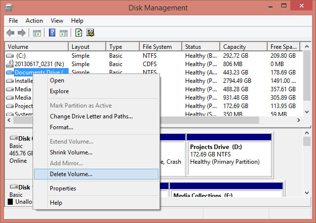 delete-volume-disk-management-intel-rapid-technology