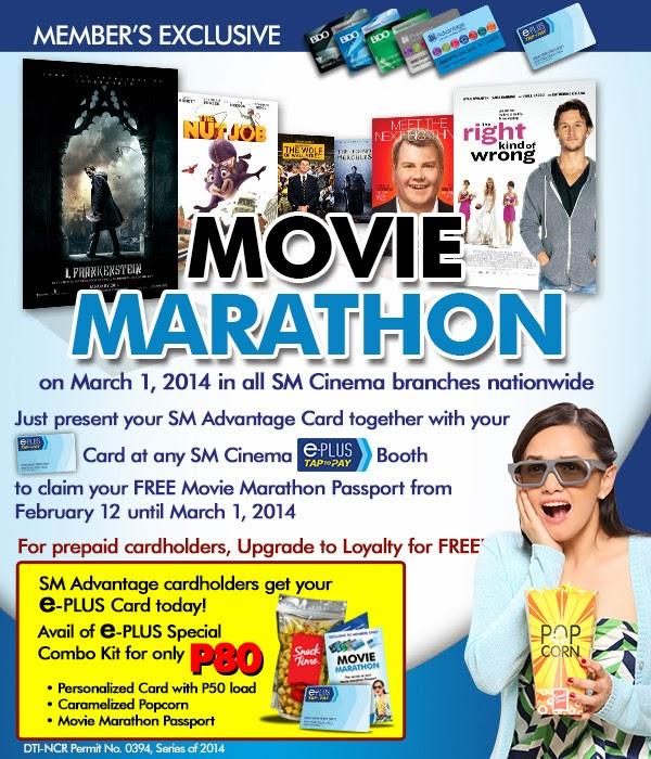SM Cinema – SMAC Movie Marathon