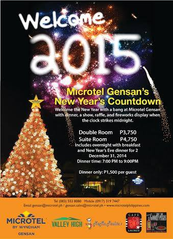 Microtel's New Years Countdown.