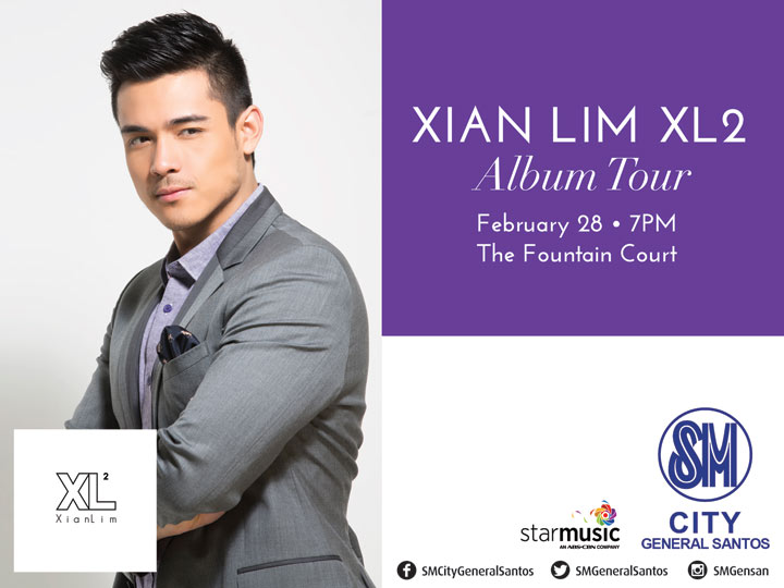 Xian Lim in SM General Santos City (February 28, 2015)