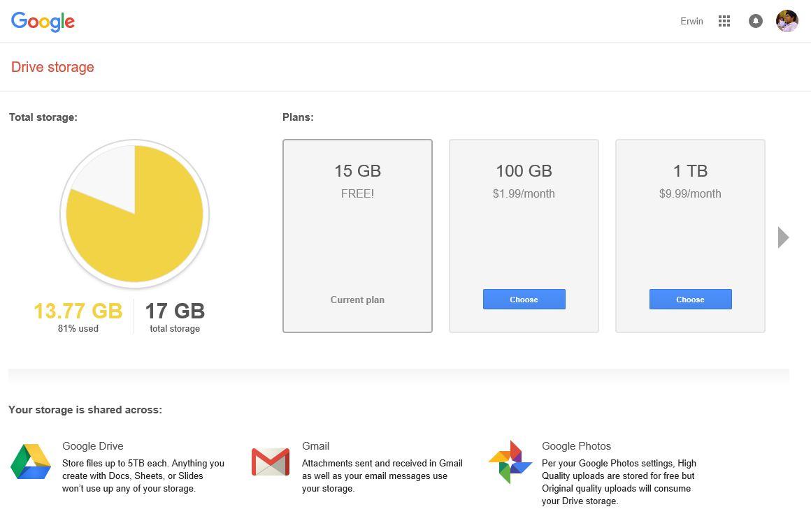 Get FREE 2GB Google Drive Storage