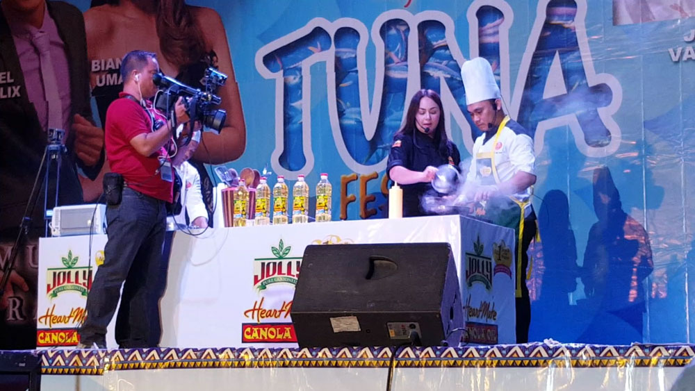Chef Donita in 19th Tuna Festival Shares Heart-Healthy Tips to Generals